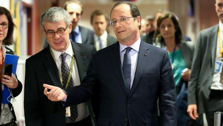 De Franse president François Hollande Beeld epa