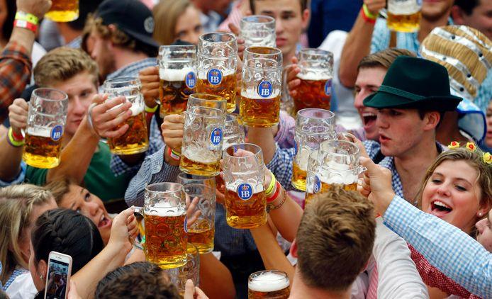 "La célèbre ""Oktoberfest"" de Munich (2015)"