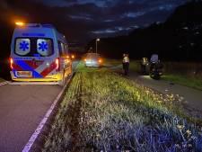 Scooterrijdster lichtgewond na botsing met ree tussen Twello en Deventer