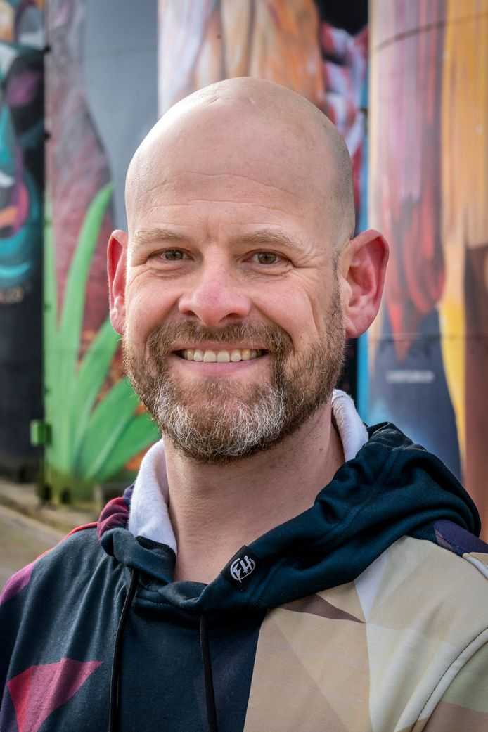 """Jan-Henk van Ieperen, oprichter van Kings of Colours: ,,Den Bosch speelt een mooie rol in de culturele sector, maar ik zou graag zien dat straatkunst nóg zichtbaarder wordt."""""""