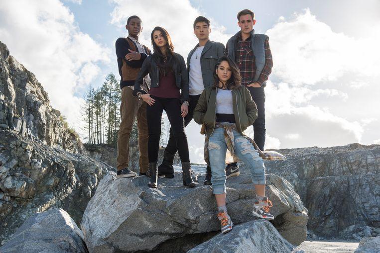 Still uit 'Power Rangers' Beeld RV