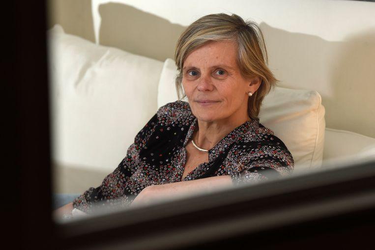 Rector Caroline Pauwels.