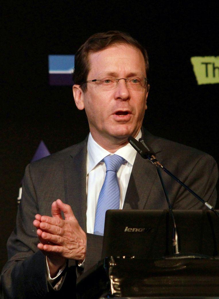 Isaac Herzog. Beeld AFP