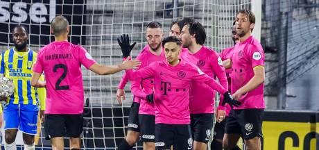 FC Utrecht wint in Waalwijk dankzij extreem late penalty
