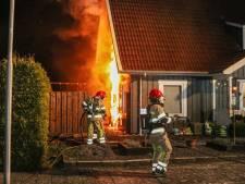 Woningbrand in Bant, bewoners ongedeerd