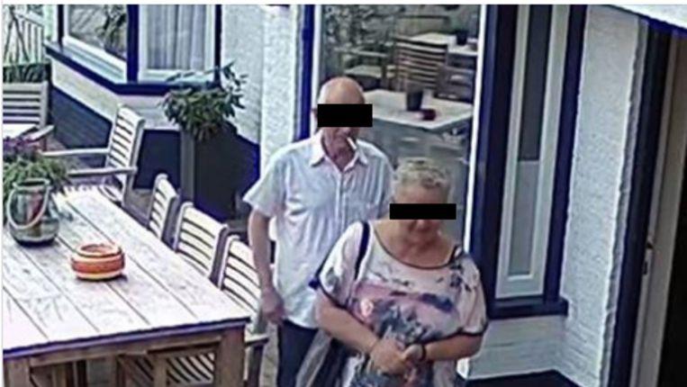 'Henk en Jolanda' bij hotel MarCant in het Nederlandse Tubbergen.
