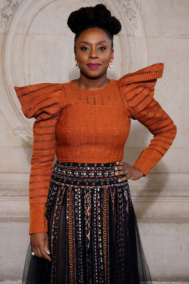 Chimamanda Ngozi Adichie.  Beeld Getty