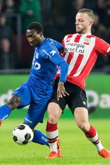 PSV komt weer geen  streep dichter bij Feyenoord