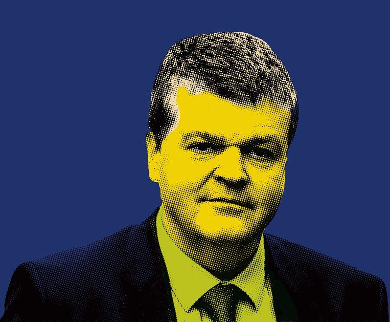 Bart Somers, burgemeester van Mechelen. Rutten is de voorzitter met de retoriek, Somers de burgemeester met beide voeten in de werkelijkheid. Beeld Bob Van Mol