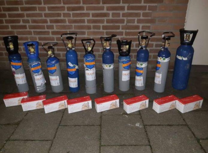 Lachgas zorgt geregeld voor problemen in het verkeer, ook in Meierijstad.