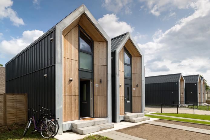 Een voorbeeld van tiny houses