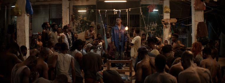 Regisseur Lacôte: 'Night of the Kings is geen gevangenisfilm, maar ik speel wel met de codes van dat genre.' Beeld