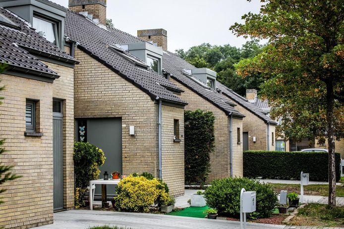 Illustratiefoto van sociale woningen.
