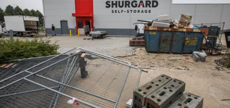 Anderhalf jaar na de verwoestende brand is Shurgard herrezen aan Industrieweg