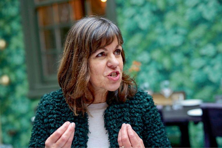 Lia van Bekhoven: 'De peilingen geven nu een ander beeld: veel voorstanders beseffen dat een goede brexit niet bestaat en hebben afgehaakt.' Beeld PhotoNews