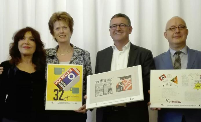 Rosita Steenbeek, Jantje Steendam (Rotterdam), Gert-Jan de Graaf (Tilburg), Harm-Jan Luth (Vlaardingen)