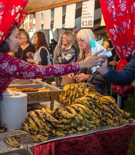 Genieten op de traditionele Etten-Leurse Pasar Malam, maar dit maal in een tent