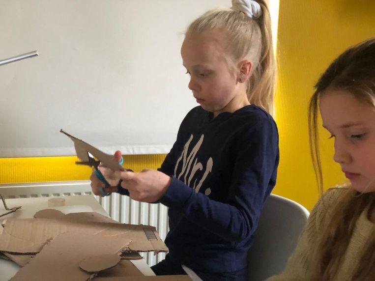 Fidget toys maken met Kidsproof. Beeld geen credit