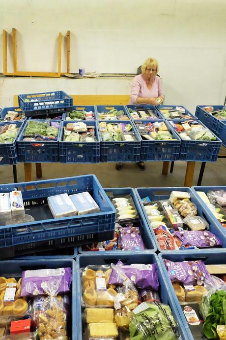 Voedselbank in Gelderland heeft het minder druk