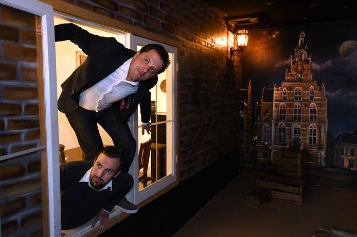 Escaperooms, zoals De Binnenpoort  in Culemborg van Bryan Klunder en Michel Rietveld, hoeven niet te rekenen op overheidssteun.