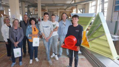 Studenten Petrus & Paulus West maken voor CM demonteerbare voedings- en bewegingsdriehoek