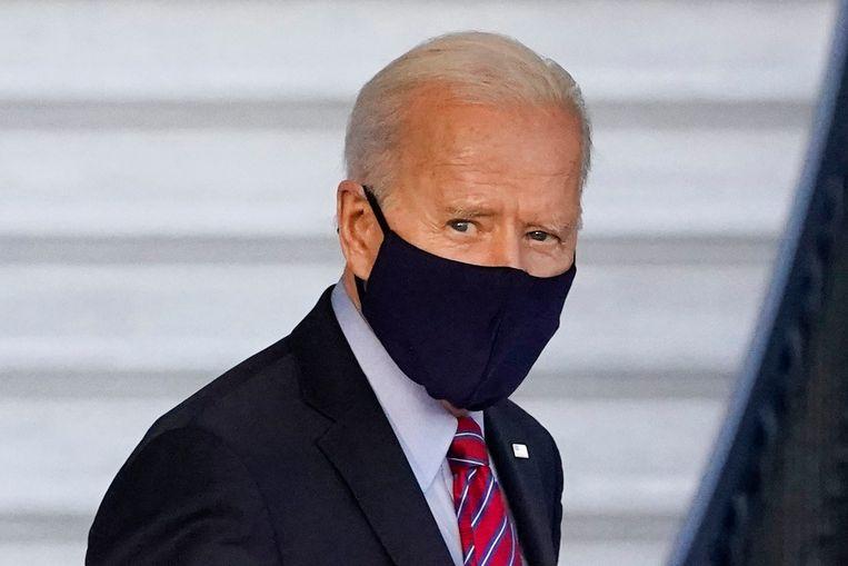 President Joe Biden wil dat zijn opvolger Donald Trump geen updates meer krijgt met geheime informatie van de inlichtingendiensten. Beeld AP