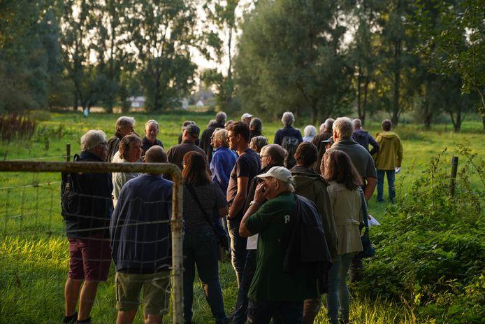 Infowandeling over en in het gebied rond de bron van de Molenbeek in Boechout.
