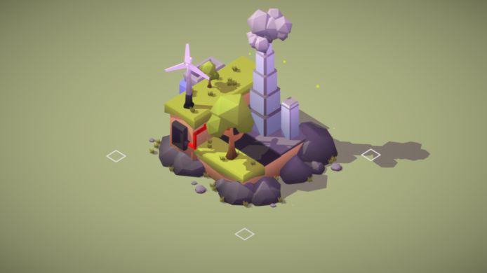 De muisbesturing van de game loopt lekker, alleen geeft de game niet goed aan welke objecten er al dan niet kunnen worden verkleind of vergroot.