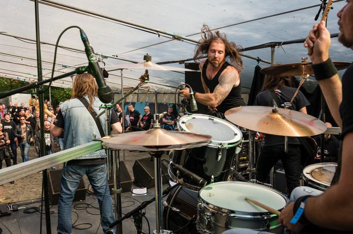 Harbour of Souls treedt op bij metalfestival Elsrock.    CE20190608