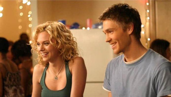"""Peyton (Hilarie Burton) et Lucas (Chad Michael Murray) dans """"Les frères Scott"""""""