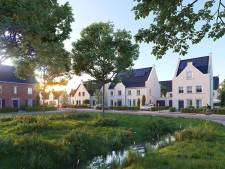 Feestje op bouwplaats startschot voor bouw 31 woningen Living Liverdonk in Brandevoort