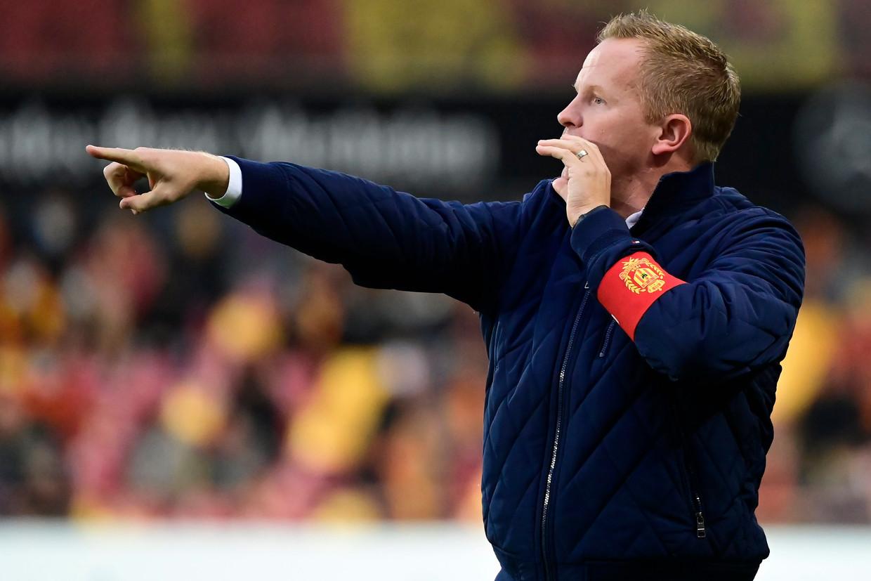 KVM-coach Wouter Vrancken. Beeld Photo News