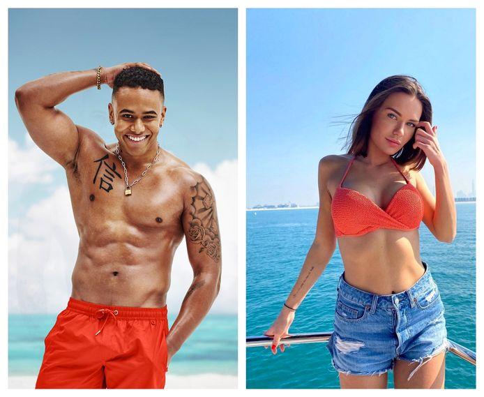 Keanu uit 'Ex on the Beach: Double Dutch' wordt gelinkt aan Megan, die enkele jaren geleden deelnam aan 'Temptation Island'.
