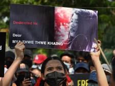 Doodgeschoten Mya eerste slachtoffer Myanmar: 'Ze wilde gaan en ik kon haar niet tegenhouden'