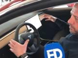 Eerste klanten zien hun Tesla in nieuwe garage in Eindhoven