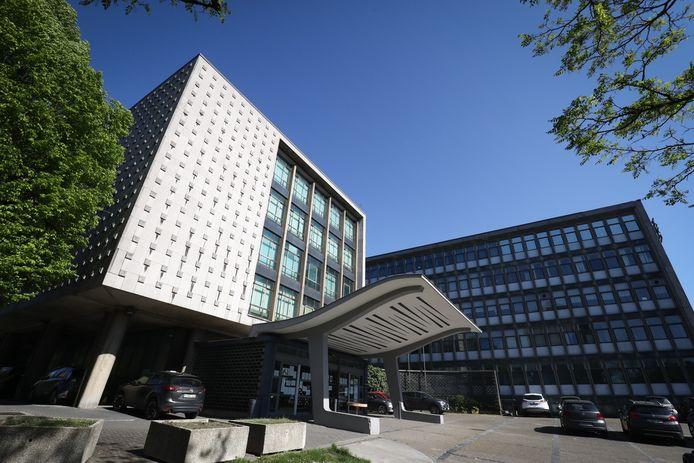Palais de justice à Charleroi