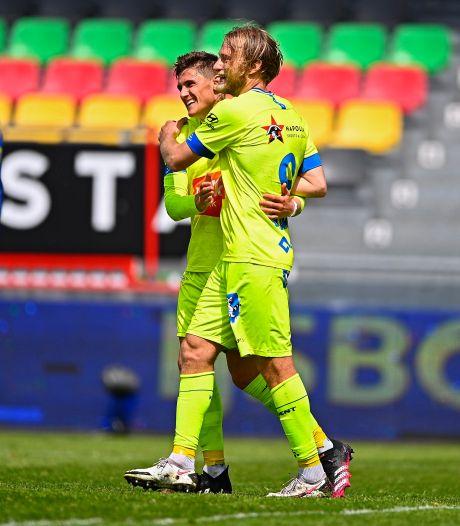 La Gantoise déroule à Ostende et s'installe provisoirement en tête des playoffs 2