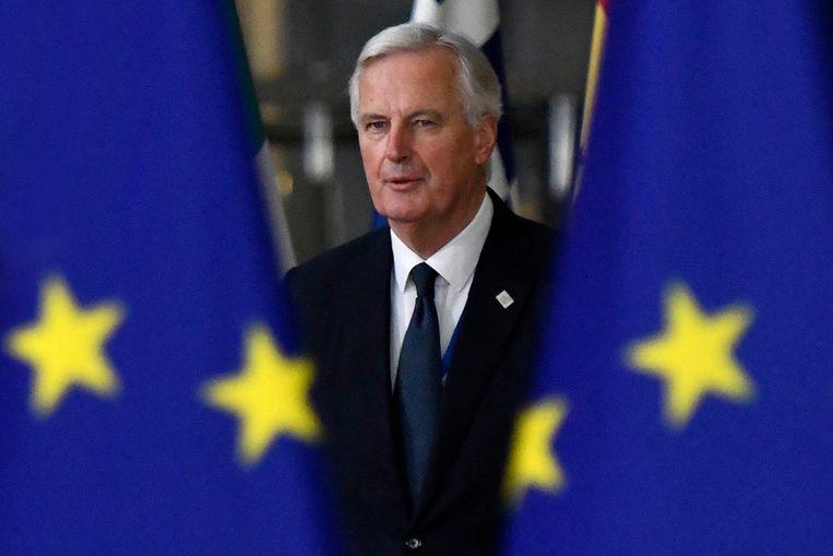 Hoofdonderhandelaar Michel Barnier. Beeld Photo News