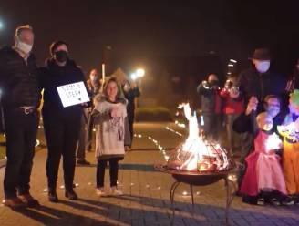 Oproep om licht te maken in Kruisem massaal opgevolgd: zo schittert de gemeente in de actie #zorgvoorlicht van VTM Nieuws en HLN