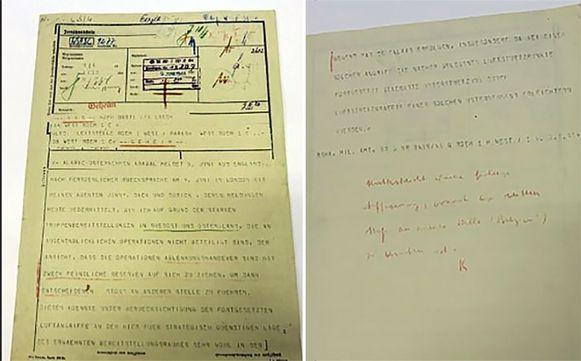 De telex die de loop van de Tweede Wereldoorlog veranderde wordt woensdag geveild.