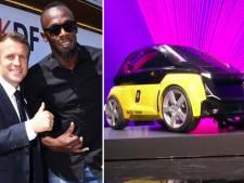 Vliegensvlug van A naar B met deelauto van sprinter Usain Bolt