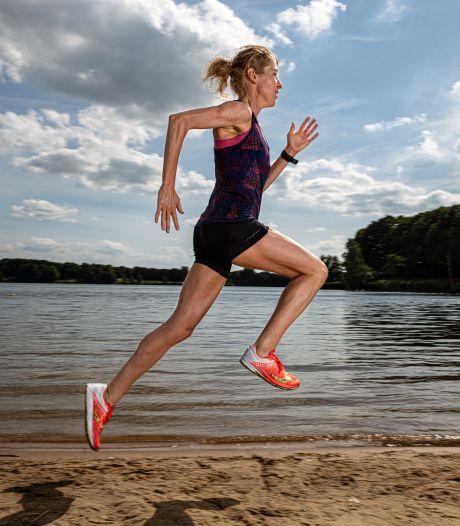 Ruth van der Meijden wil op verlaten vliegveld de olympische limiet halen