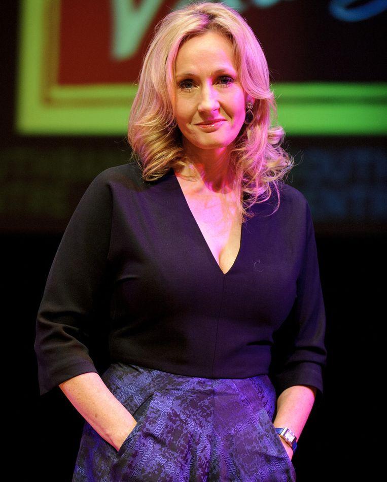 Schrijfster J.K. Rowling. Beeld getty