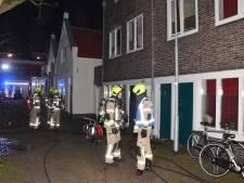 Brand in studentenhuis Middelburg, bewoners elders opgevangen