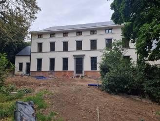 Renovatie Landhuis de Viron op schema: binnenkort start ook buitenaanleg