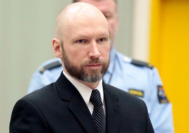 Anders Behring Breivik Beeld EPA