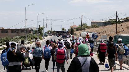 Busje met vluchtelingen gaat overkop in Griekenland: 6 doden, waaronder 3 kinderen