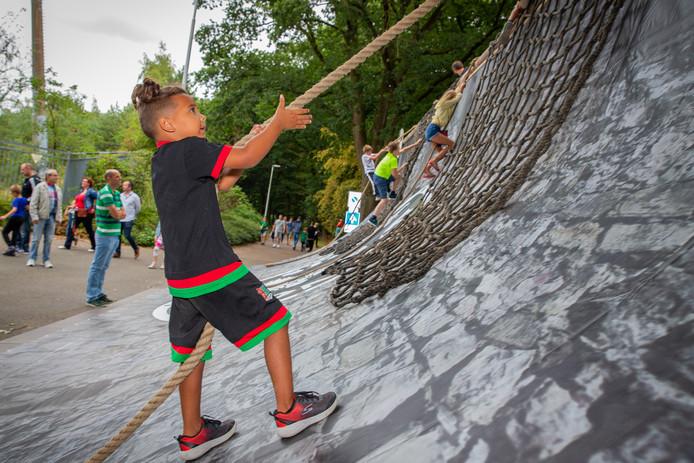 Kinderen konden ook muren beklimmen
