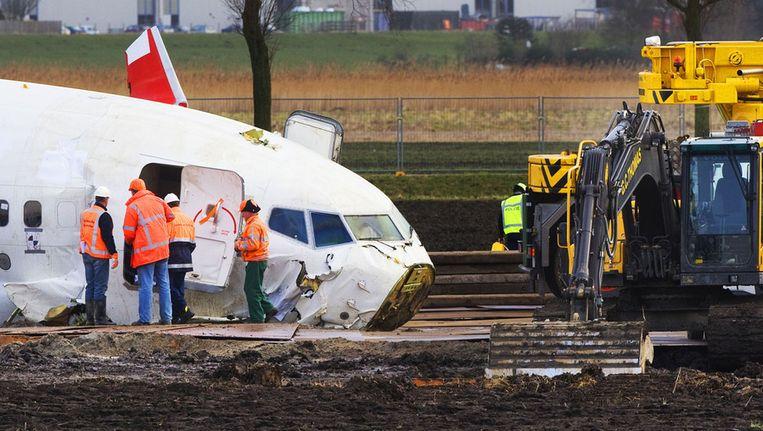 De gecrashte Boeing op archiefbeeld Beeld ANP