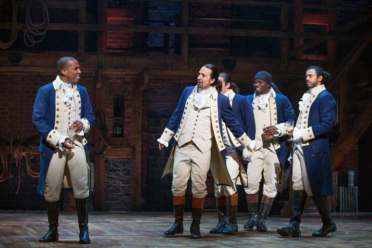 Musicals zoals Hamilton laten zien dat tradioneel en modern goed samen kunnen gaan.  Beeld Sara Krulwich/ANP